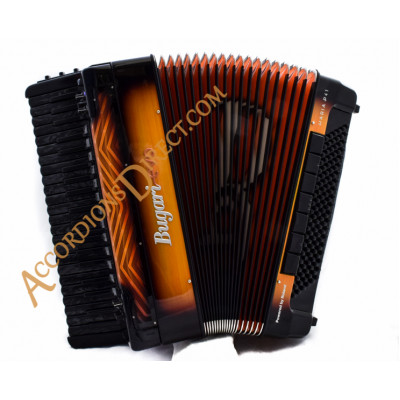Bugari Evo Haria 120 bass digital piano accordion Fire Special model
