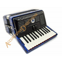 E. Soprani 26 key 48 bass blue accordion, MIDI options available