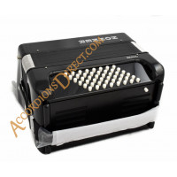 Hohner Bravo 26 key 48 bass black accordion, MIDI options available