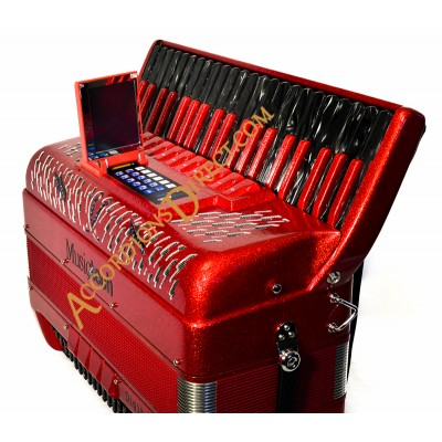 MusicTech Digital Box Piano Accordion