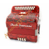 Paolo Soprani Elite 2 row diatonic button accordion.  MIDI and microphone options.