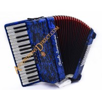 Paolo Soprani 34 key 3 voice Scottish 72 bass piano accordion.  Sound expansion options.