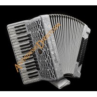 Paolo Soprani 37 key 96 bass 4 voice piano accordion.  Midi expansion available.