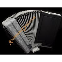 Paolo Soprani 37 key 96 bass 4 voice accordion.  Midi expansion available.