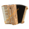 Scandalli Tierra 34 key 96 bass 4 voice olive wood accordion, MIDI options available