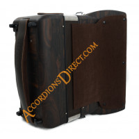Scandalli Tierra 34 key 96 bass 4 voice ziricote wood accordion, MIDI options available