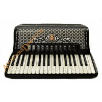 Scandalli Polifonico IX 37 key 96 bass 37 Key 96 bass decorated piano accordion. MIDI options available.