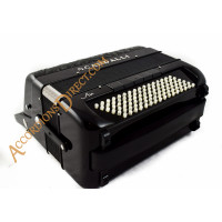Scandalli Air II C  96 bass 4 voice C system chromatic button accordion with double cassotto, octave tuned. Midi options available.