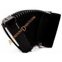 Scandalli Air I 37 key 96 bass 4 voice accordion with chin coupler for musette. Midi options available.