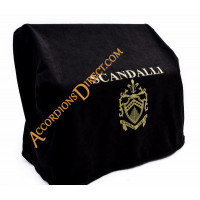 Scandalli Air I 37 key 96 bass 4 voice black piano accordion. Midi options available.