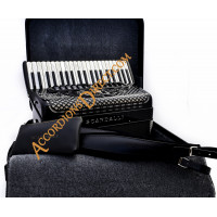 Scandalli Super L 41 Key 120 bass double tone chamber traditional piano accordion. MIDI options available.